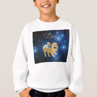 Leo golden sign sweatshirt