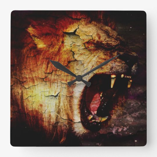 Leo horoscope safari wild Animal African Lion Square