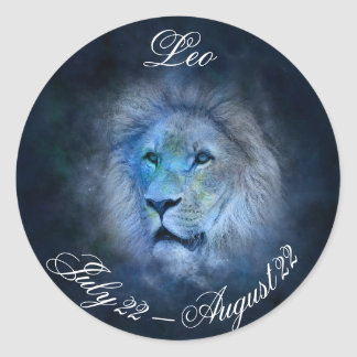 Leo Horoscope Sign Lion Symbol Astrology Sticker