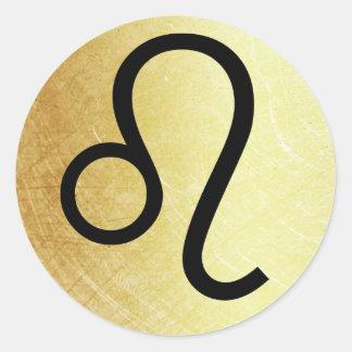 Leo Horoscope Sign Symbol Astrology Sticker