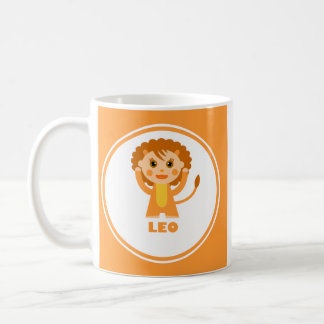 Leo is my Zodiac sign Classic White Coffee Mug