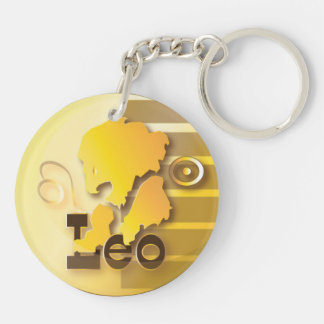 Leo-July 23 to August 21 Key Ring