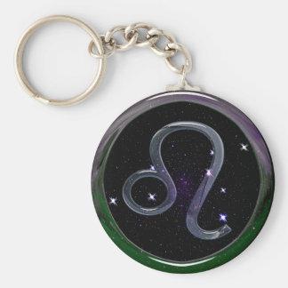 Leo Key Ring
