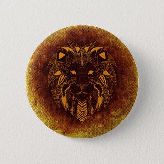 Leo, Leone 6 Cm Round Badge