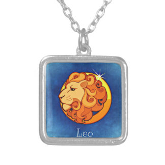 Leo, Leone Silver Plated Necklace