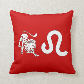 Leo Lion Astrology Sign American MOJO Pillow