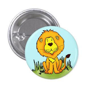 Leo Lion button