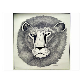 Leo Lion by Piliero Postcard