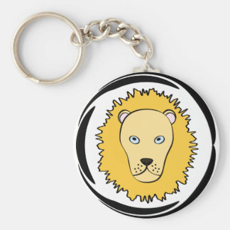Leo Lion key ring
