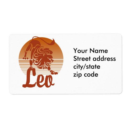 Leo Lion Zodiac