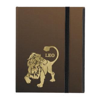 Leo Lion Zodiac Case For iPad
