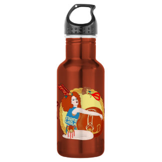Leo 18oz Water Bottle