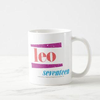 Leo Pink Coffee Mug
