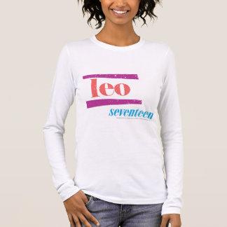 Leo Pink Long Sleeve T-Shirt