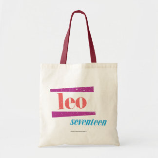 Leo Pink Tote Bag