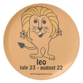 Leo Plate