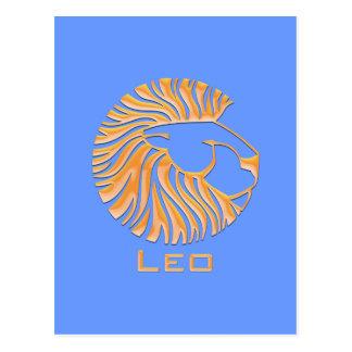 Leo Postcard