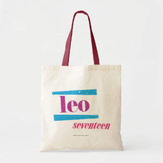 Leo Purple Tote Bag