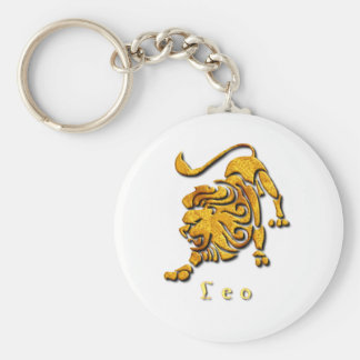 Leo Sign Keychain