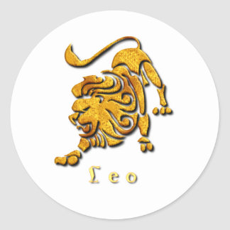 Leo Sign Sticker