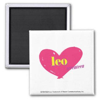 Leo Square Magnet