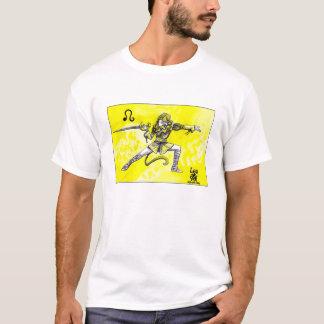 Leo Star Sign fencer T-Shirt