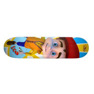 Leo Sunray Background Skateboard