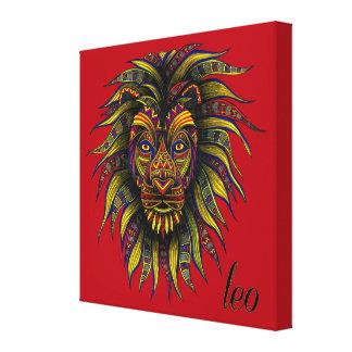 Leo Symbol Canvas Print