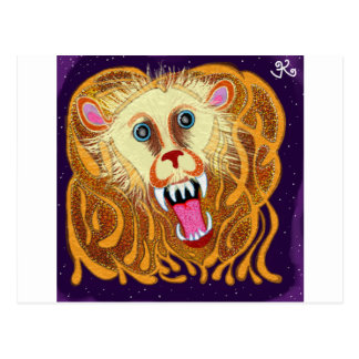 Leo the Golden Lion Postcard