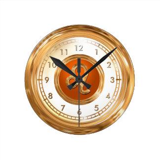 LEO - The Lion Horoscope Symbol Round Clock