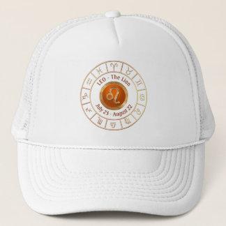 LEO - The Lion Horoscope Symbol Trucker Hat