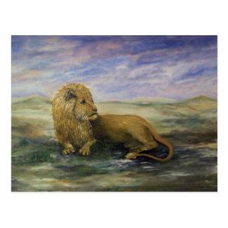 Leo the Lion- King Postcard
