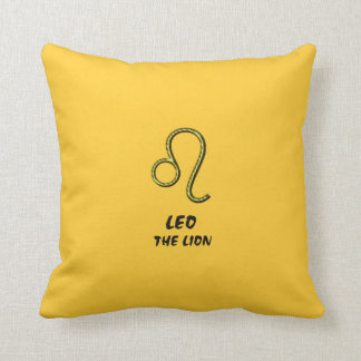 Leo the lion pillow