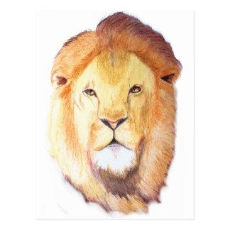 Leo the Lion Post Card