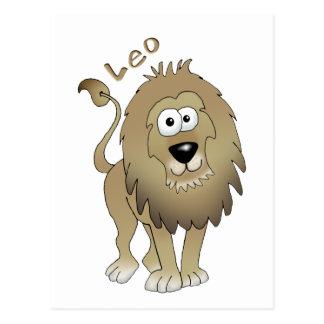 Leo the lion! postcard