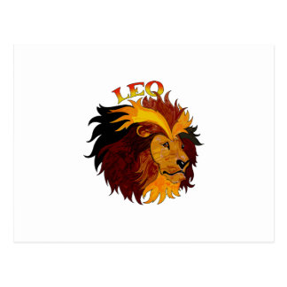 LEO THE LION POSTCARD