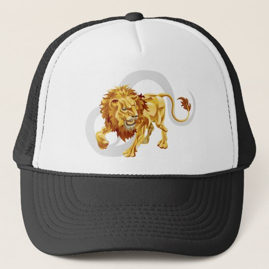 Leo the lion star or birth or zodiac sign cap