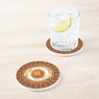 LEO - The Lion Zodiac Sign Coaster