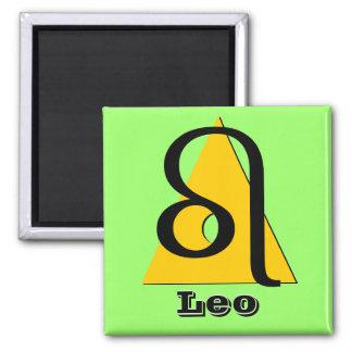 Leo - Three Aspects of Fire Magnet