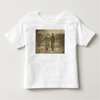Leo Tolstoy and the author Maxim Gorky Toddler T-Shirt