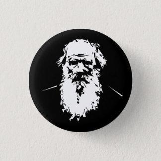 Leo Tolstoy - portrait 3 Cm Round Badge