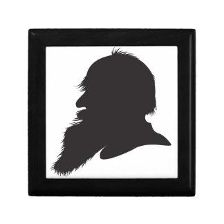Leo Tolstoy profile portrait Jewelry Box