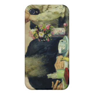 Leo Tolstoy with his wife in Yasnaya Polyana Cases For iPhone 4