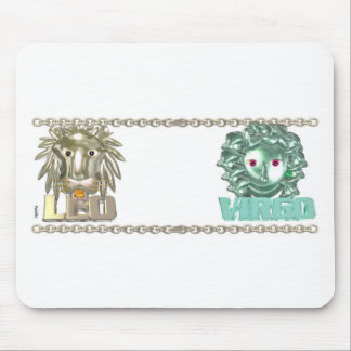 Leo Virgo zodiac friendship gifts Mouse Pad