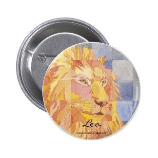 Leo Zodiac Pin