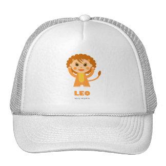 Leo Zodiac for Kids Cap