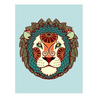 Leo Zodiac - Lion Post Cards