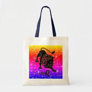 Leo Zodiac Modern Tote Bags