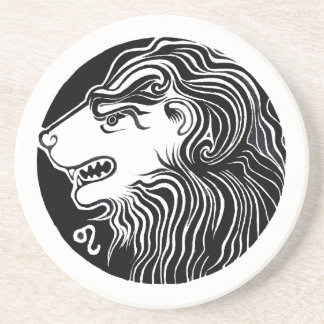 Leo - Zodiac Party coasters