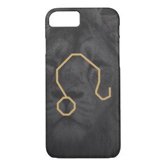 Leo Zodiac Sign   Custom Background iPhone 8/7 Case